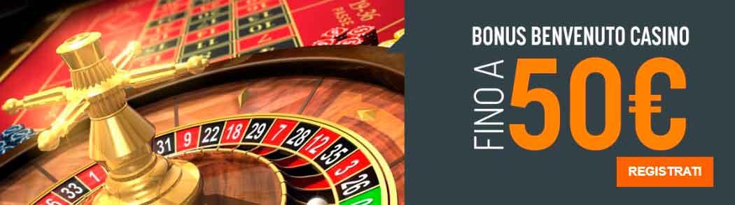 Codice promozionale SNAI casino
