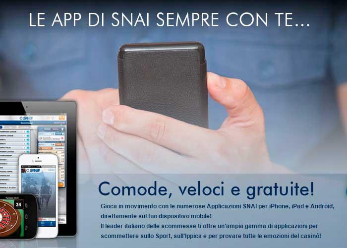 Mobile e app Snai